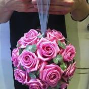 Pink Rose Bridesmaid Posy