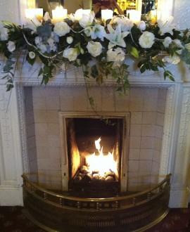 White Floral Venue Decorations