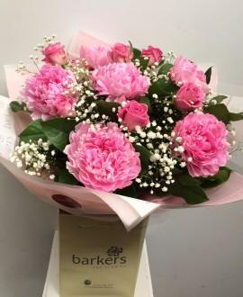Pink-Peony-Rose-Hand-tied-£50.00-270×330