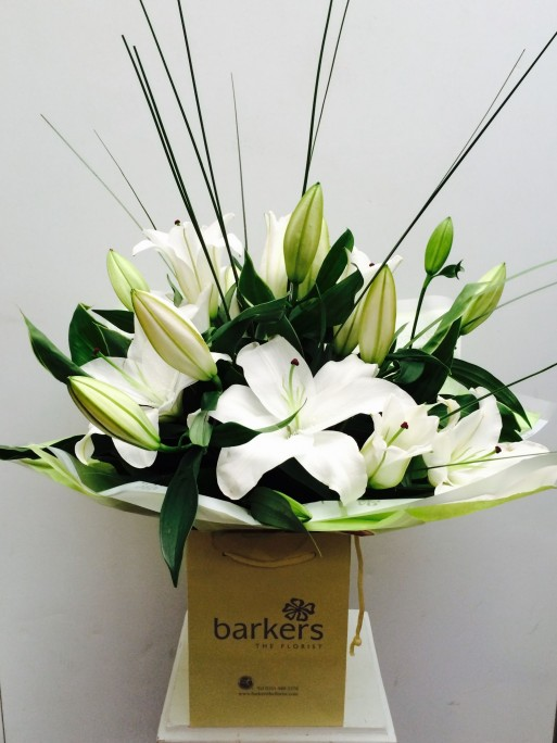 Oreiental Lily Hand Tied
