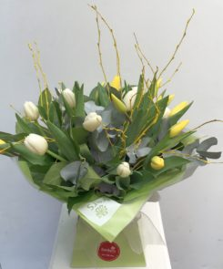 Easter Tulip Hand Tied £35.00