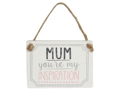 40559 Mum Inspiration Wood plaque