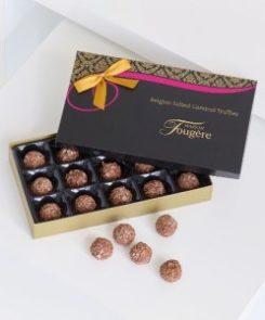 170g Maison Fougere salted caramel truffles